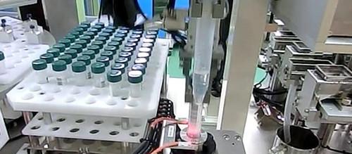 液体培地調製装置